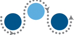 Coordinated Care icon blue